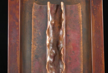 Forged and Folded Copper Wall Art