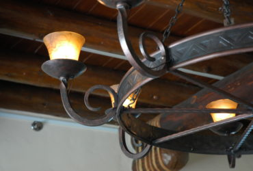 Hand Forged Custom Chandelier