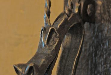 Hand Forged Custom Door Knocker