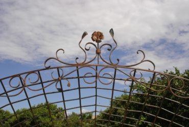 Hand Forged Steel Garden Arbor