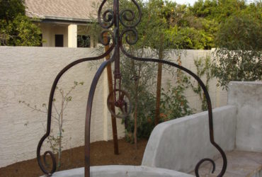 hand forged steel French style water well